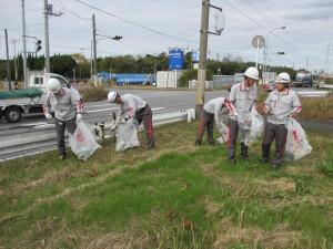 国道16号線清掃(3)
