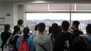 サンプラザ市原の見学